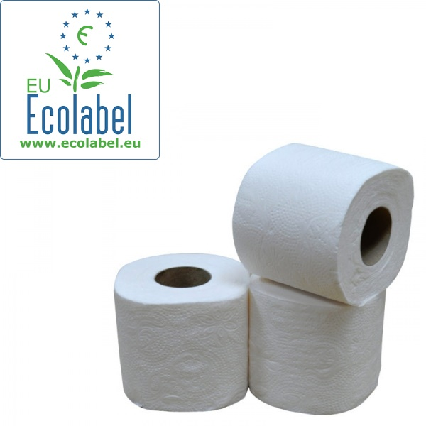 Toiletpapier, cellulose, 2 laags, 400 vel