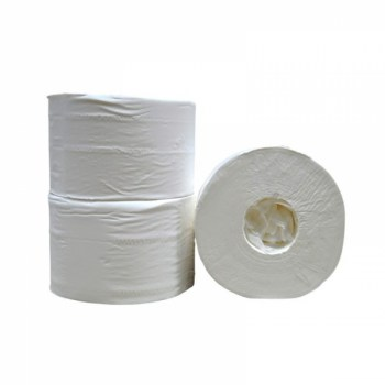 Jumbo Toiletpapier Maxi recycled tissue 2 laags 6 x 380 meter